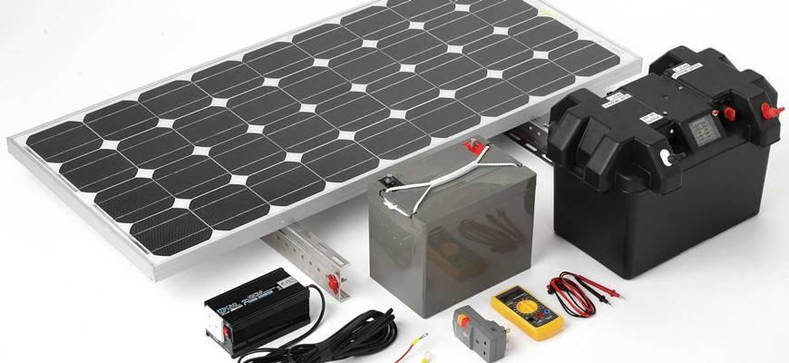 Z čoho sa fotovoltaický systém na dom skladá.