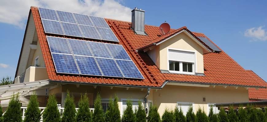 Fotovoltaické zásobníky pre ohrev vody v akumulačných zásoníkoch.